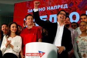 Σκόπια: Ο Στέβο Πεντάροφσκι νέος Πρόεδρος της Βόρειας Μακεδονίας!