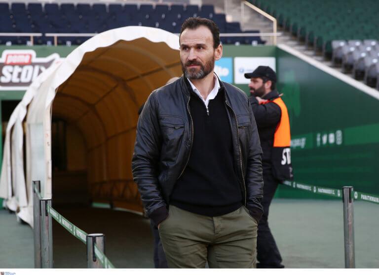 Νίκος Νταμπίζας στον ΟΠΑΠ: «Εύχομαι να σηκώσει το κύπελλο ο Χολέμπας»
