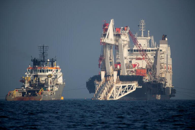 Gazprom: Ολοκληρώθηκε το 48% του αγωγού Nord Stream-2