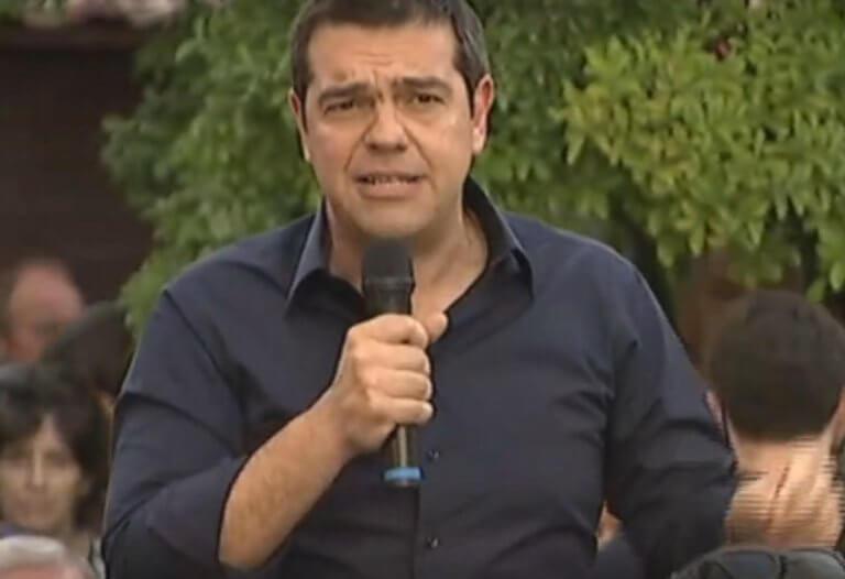 LIVE η ομιλία του Αλέξη Τσίπρα στα Τρίκαλα