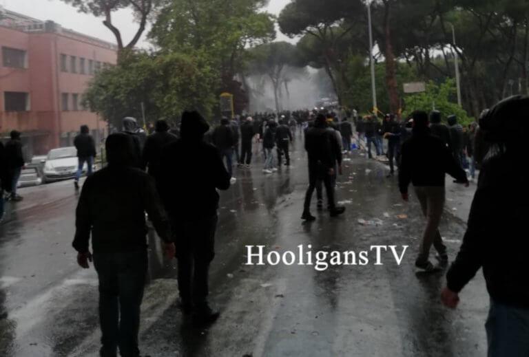 Τελικός Κυπέλλου Ιταλίας: Σοβαρά επεισόδια από τους οπαδούς της Λάτσιο! Pic, video