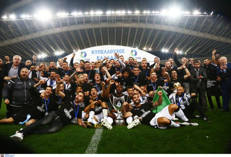 Τελικός Κυπέλλου Ελλάδας: Κυρίαρχος και… πελάτισσα! Ιστορικό νταμπλ ο ΠΑΟΚ – Εξαφανισμένη η ΑΕΚ