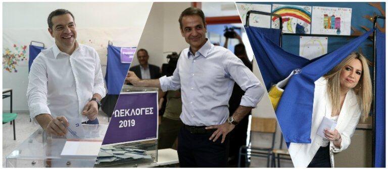 Εκλογές 2019: LIVE η «μάχη» της κάλπης – Λεπτό προς λεπτό όσα συμβαίνουν