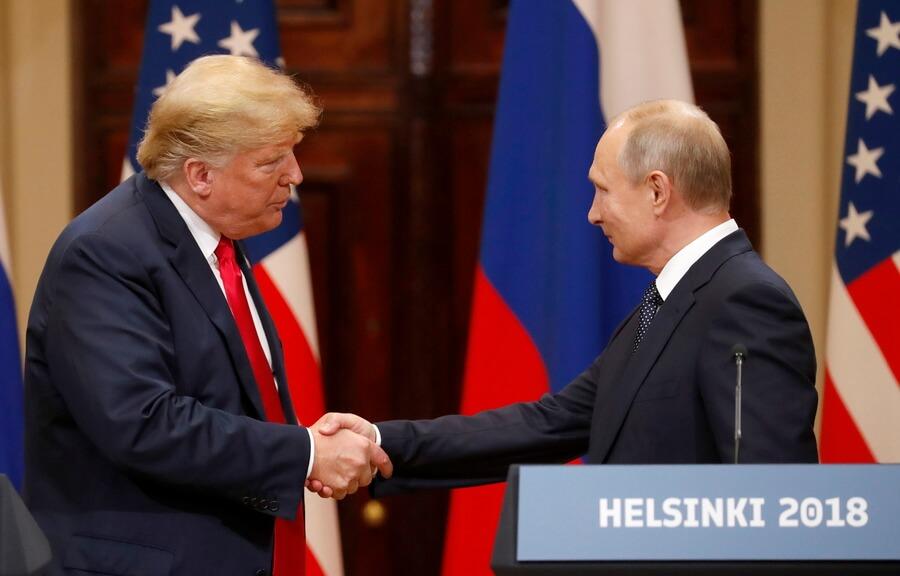 επικοινωνία Πούτιν - Τραμπ