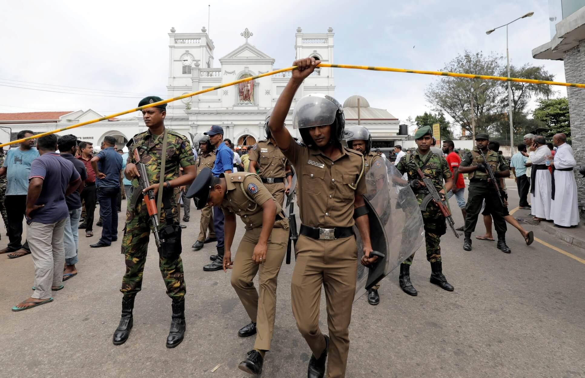 Σρι Λάνκα: Νέος συναγερμός για τρομοκρατικά χτυπήματα από τζιχαντιστές!