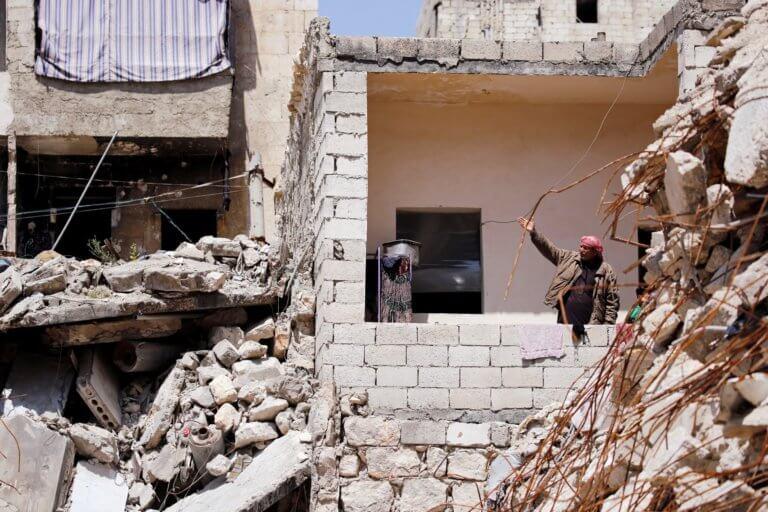 Συρία: Μακελειό σε καταυλισμό προσφύγων στο Χαλέπι