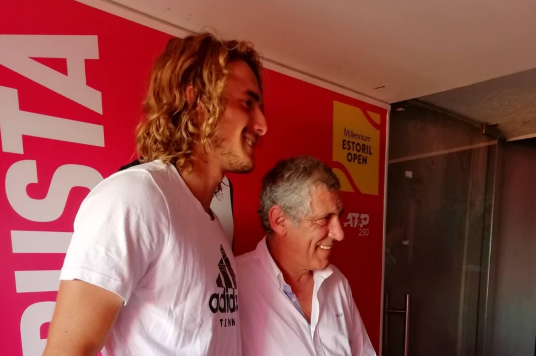 Τσιτσιπάς: Ο Φερνάντο Σάντος συνάντησε τον Στέφανο! pics