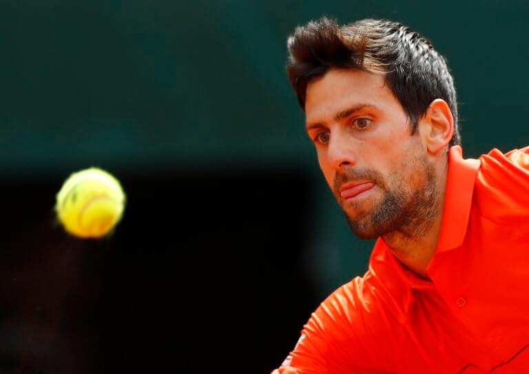 Roland Garros: Μπήκε με… φόρα και ο Τζόκοβιτς!