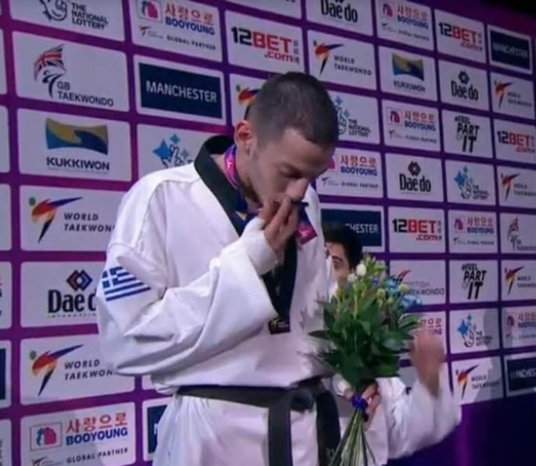 """""""Ασημένιος"""" πρωταθλητής κόσμου ο Τεληκωστόγλου"""
