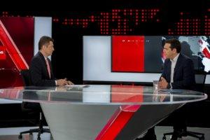 Τι τηλεθέαση έκανε η συνέντευξη Τσίπρα στον ALPHA