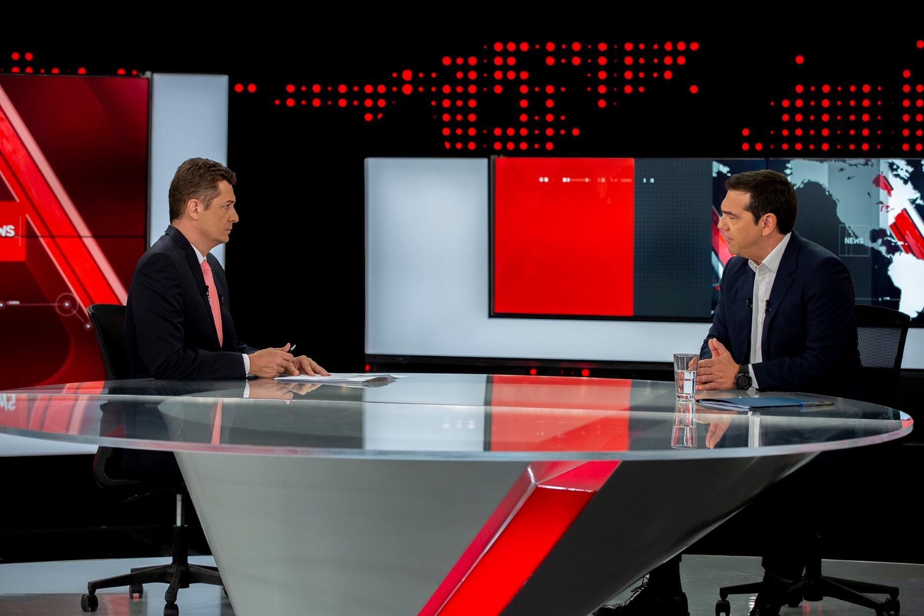 Τι τηλεθέαση έκανε η συνέντευξη Τσίπρα στον ALPHA | Newsit.gr