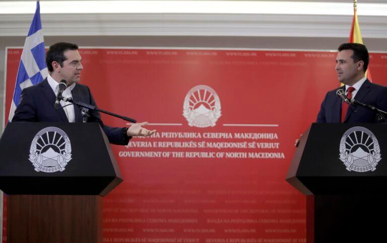 Βουλή: Πέρασε η συμφωνία των συνόρων Ελλάδας – Βόρειας Μακεδονίας