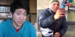 Βαρκελώνη: Γνωστός YouTuber εξευτέλιζε άστεγο!