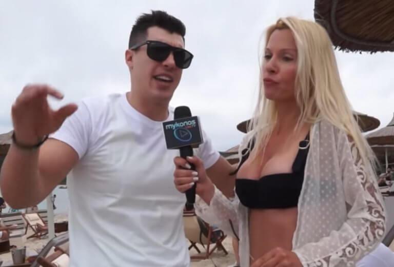 Χαλκιδική: Πήγαινε γυρεύοντας στον «Αγάπη Μόνο» – Η ξανθιά καλλονή του έκανε τη λάθος ερώτηση – video