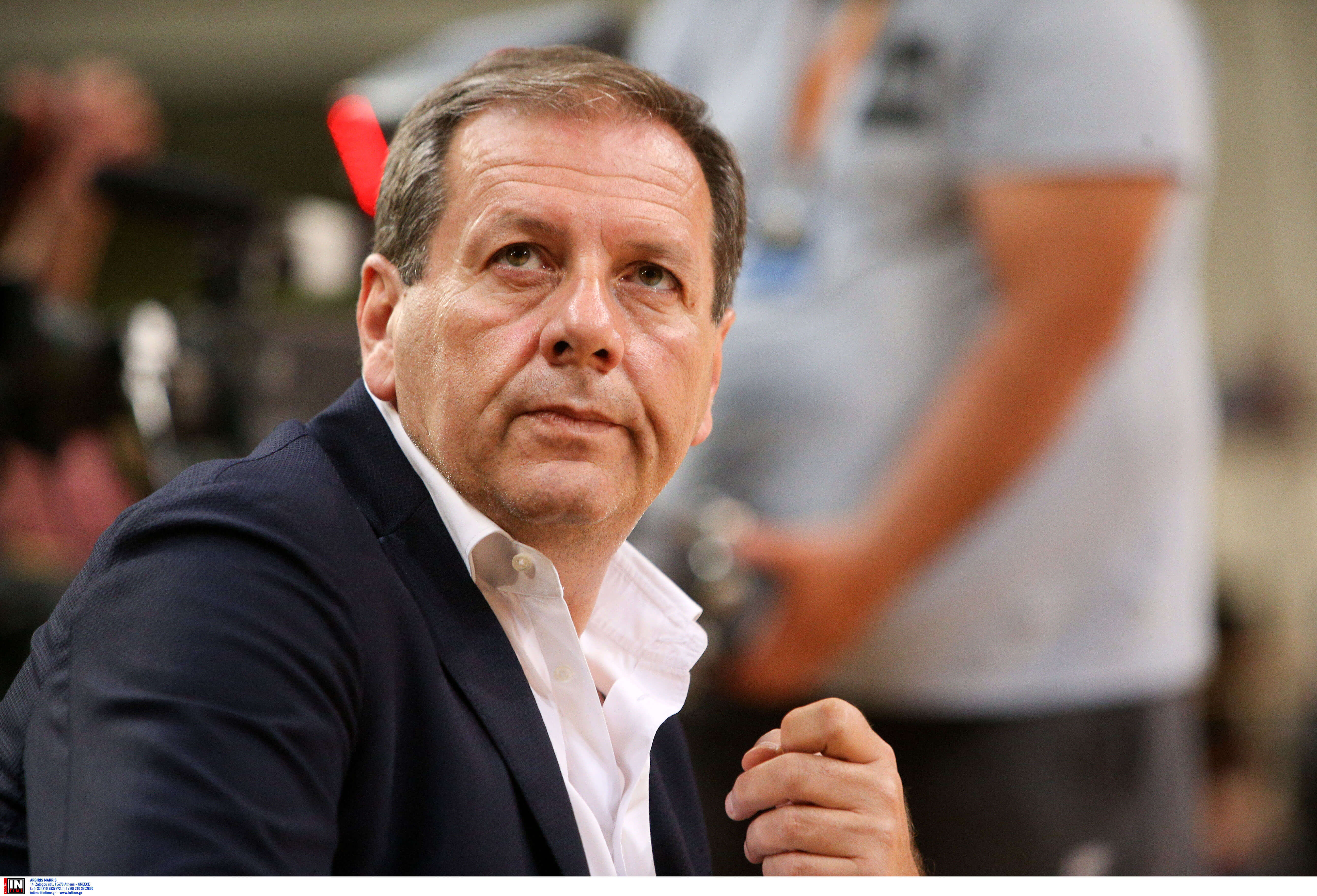 """Αγγελόπουλος: """"Αυτοκτονική η απόφαση του Ολυμπιακού"""""""