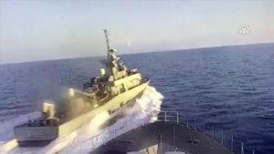 Anadolu: Ελληνική πυραυλάκατος παρενόχλησε τουρκική κορβέτα σε διεθνή ύδατα – video