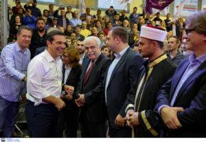Ο αρχηγός της ΕΛ.ΑΣ. και στη συγκέντρωση ΣΥΡΙΖΑ στην Ξάνθη [pics]