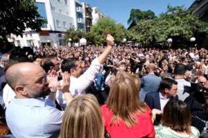 Τσίπρας από Άρτα: «Συγκινητική υποδοχή – Αυτή είναι πραγματική δημοσκόπηση!» [pics]
