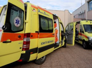 Λαμία: Σύγκρουση λεωφορείου με μηχανάκι – Δύο τραυματίες