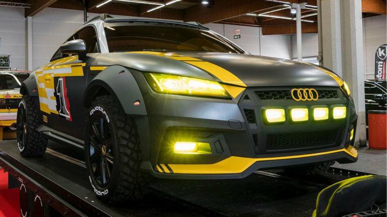 Το Audi TT μεταμορφώνεται σε όχημα εκτός δρόμου! [pics]