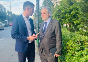 Κώστας Μπακογιάννης: Περπατώντας στην Αθήνα με τον Χρήστο Στυλιανίδη