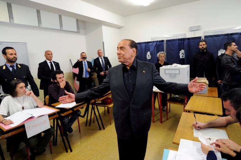 Αποτελέσματα ευρωεκλογών – Ιταλία: Η επιστροφή Μπερλουσκόνι