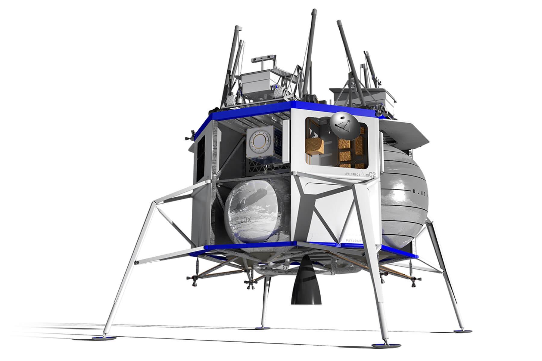 Ανθρώπους στη Σελήνη έως το 2024 στέλνει η Blue Origin του Τζεφ Μπέζος
