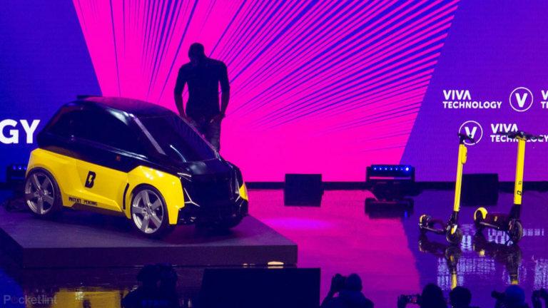 O θρύλος του στίβου, Usain Bolt, παρουσίασε το δικό του ηλεκτρικό αυτοκίνητο! [pics]