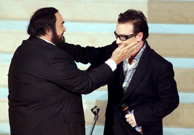 Πώς ο Παβαρότι επιδίωξε να συνεργαστεί με τους U2
