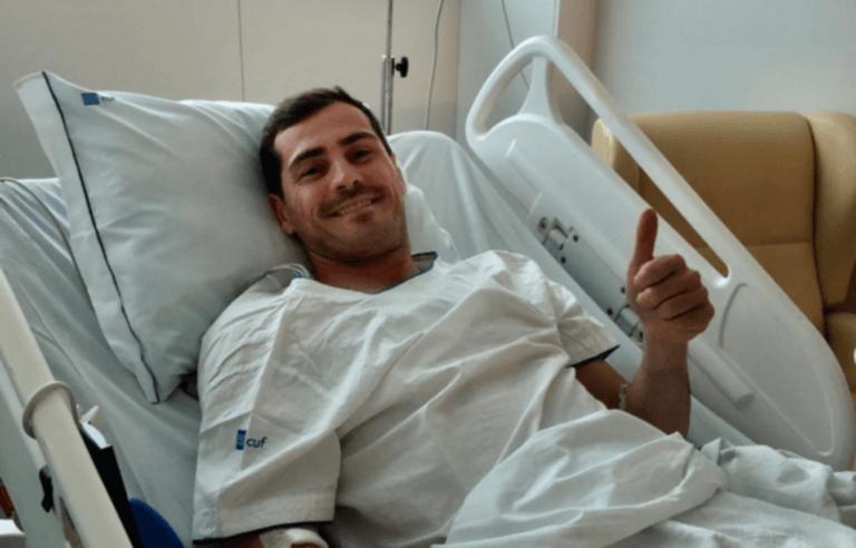 Κασίγιας: Το πρώτο μήνυμα του μέσα από το νοσοκομείο [pic]
