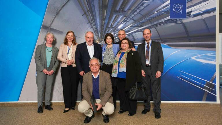 Στο CERN ελληνική αντιπροσωπεία – Τι συζητήθηκε [pic]