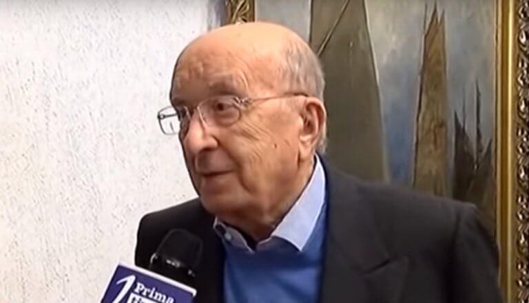 Ιταλία – Δημοτικές εκλογές: Δήμαρχος ο 91 ετών πρώην πρωθυπουργός Τσιριάκο ντε Μίτα
