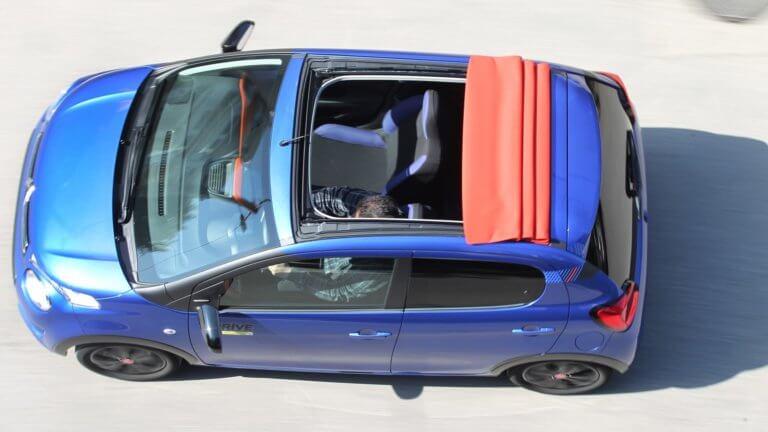 Νέο Citroen C1 Urban Ride Airscape με υφασμάτινη οροφή