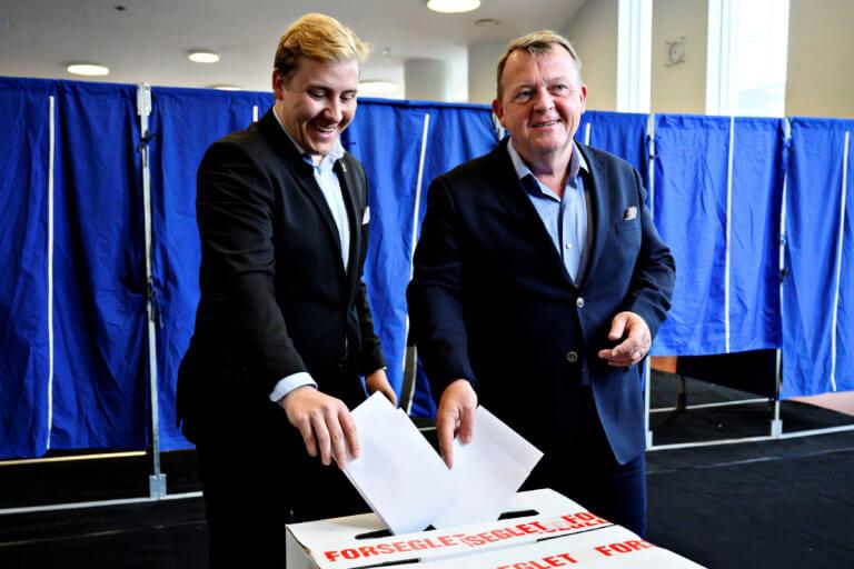 Ευρωεκλογές 2019 – Δανία: Ο πρωθυπουργός Ράσμουσεν ψήφισε τον γιο του