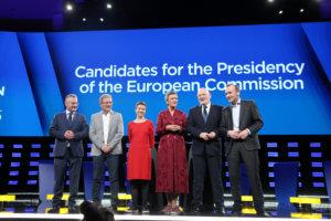 Ευρωεκλογές: Με αναφορές στην Ελλάδα το debate για την Προεδρία της Κομισιόν