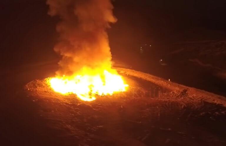 Κρήτη: Σήκωσε το drone και κατέγραψε αυτές τις εικόνες – Η εξήγηση για τη φωτιά – video