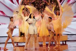 Eurovision 2019: Εντυπωσιακή ξανά η Κατερίνα Ντούσκα – video