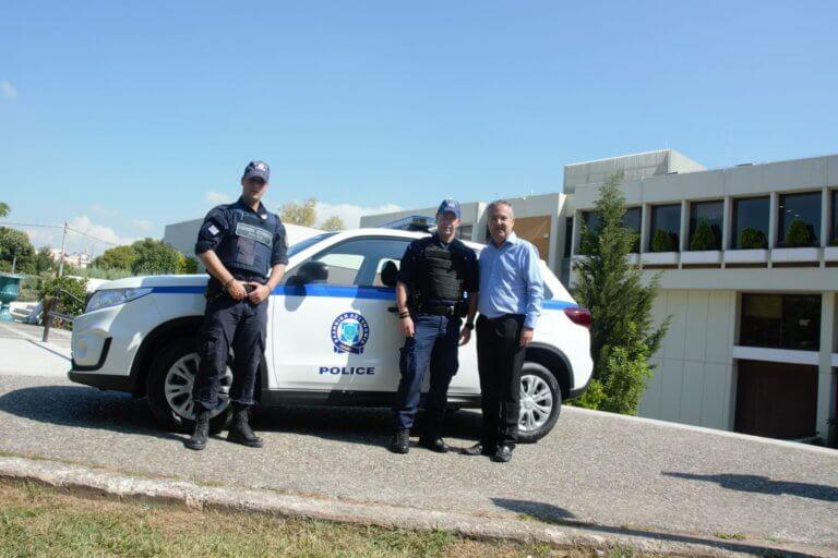Δώρισαν περιπολικό στο Αστυνομικό Τμήμα Παπάγου – Χολαργού!