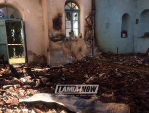 Φθιώτιδα: Φωτιά έκανε στάχτη το εκκλησάκι του Αγίου Σεραφείμ – Οι εικόνες καταστροφής [pics, video]