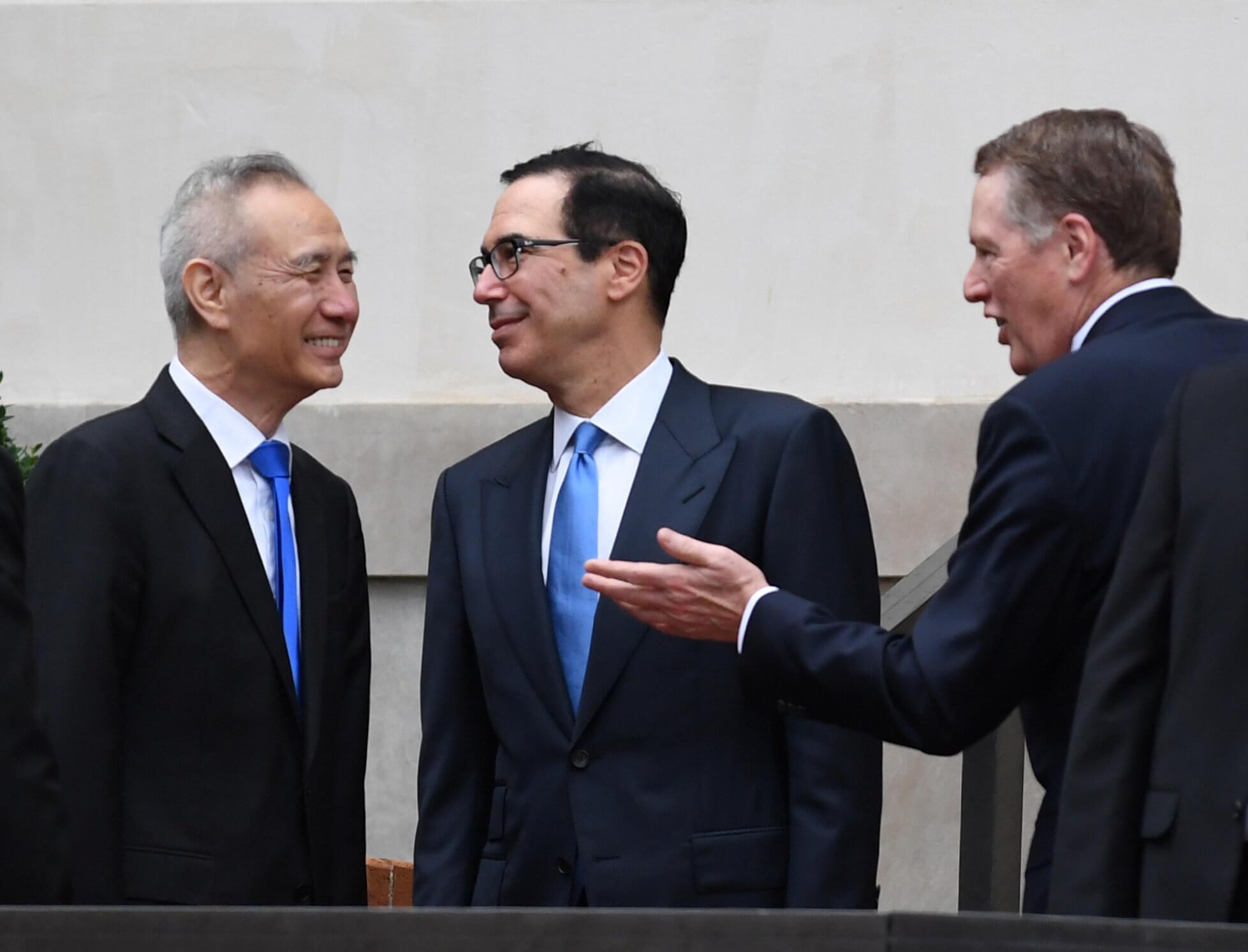 Ραντεβού το Πεκίνο έδωσαν διαπραγματευτές ΗΠΑ – Κίνας σε ένα νέο γύρο επαφών για τερματισμό του εμπορικού πολέμου