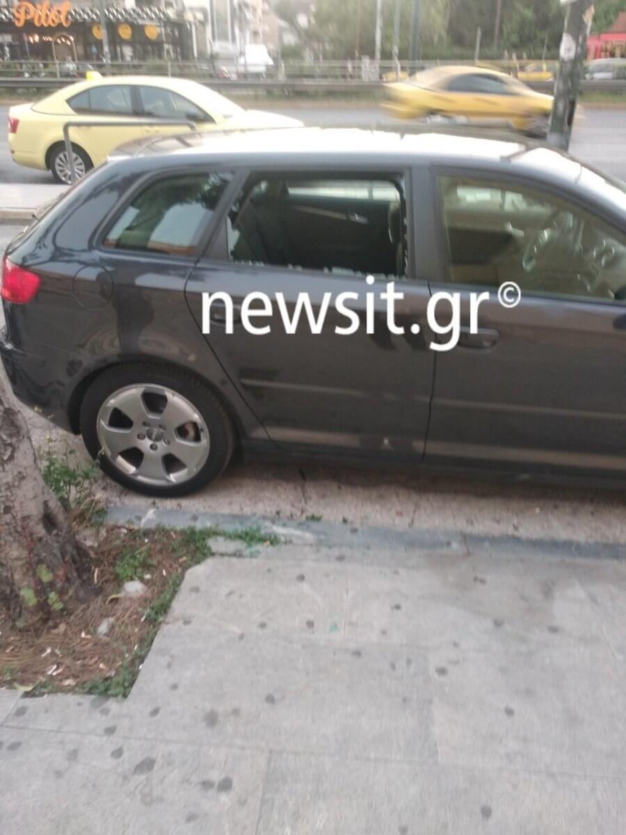 Επίθεση σε προεκλογική εκδήλωση Με κεντρικό ομιλητή τον Άδωνι! Έσπασαν αυτοκίνητα - Παρόντες Σαμαράς, Κικίλιας, Κεφαλογιάννη