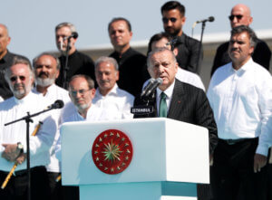 Ερντογάν: Η Ευρώπη έχει ειρήνη χάρη στην Τουρκία