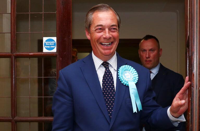 Ευρωεκλογές 2019: Θρίαμβος του Φάρατζ στη Βρετανία