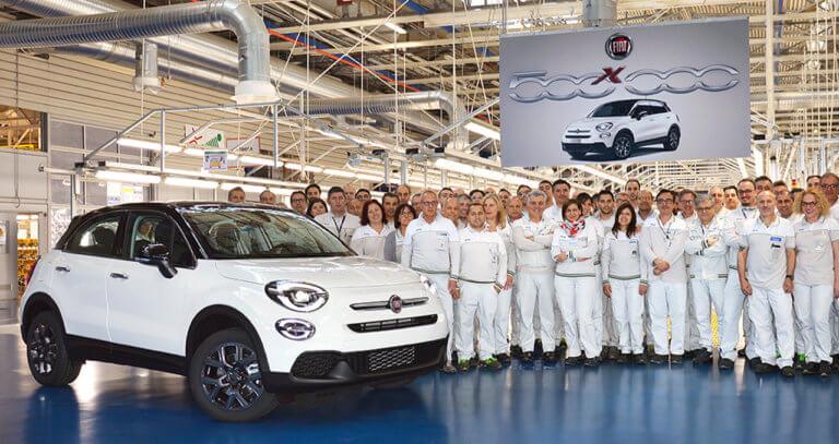 FΙΑΤ: Η παραγωγή του 500X έφτασε τα 500.000 αυτοκίνητα