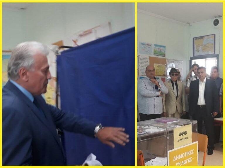 Εκλογές 2019: Με τον Γιάννη Φλωρινιώτη ψήφισε ο Παναγιώτης Ψωμιάδης