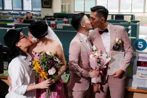 Οι πρώτοι γάμοι ομοφυλοφίλων στην Ταϊβάν είναι γεγονός [pics]