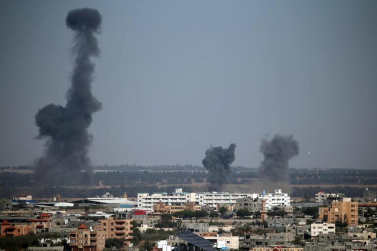 Λωρίδα της Γάζας: Ακόμα δυο Παλαιστίνιοι νεκροί από τους Ισραηλινούς βομβαρδισμούς