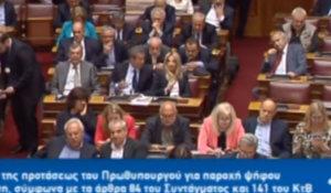 Βουλή: Απορημένη η Γεννηματά με Μητσοτάκη – Τι προκάλεσε την αντίδρασή της – video