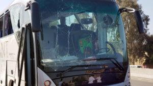 Έκρηξη στην Αίγυπτο: Εικόνες σοκ μέσα από το λεωφορείο που έγινε στόχος
