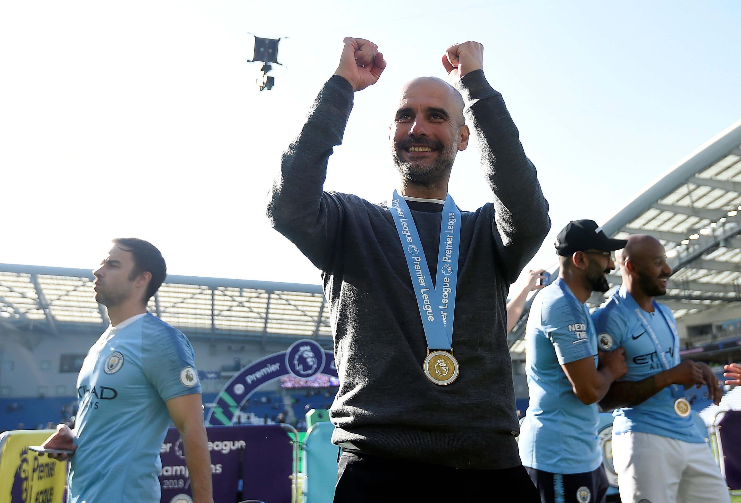 Premier League: Προπονητής της χρονιάς ο Πεπ Γκουαρντιόλα